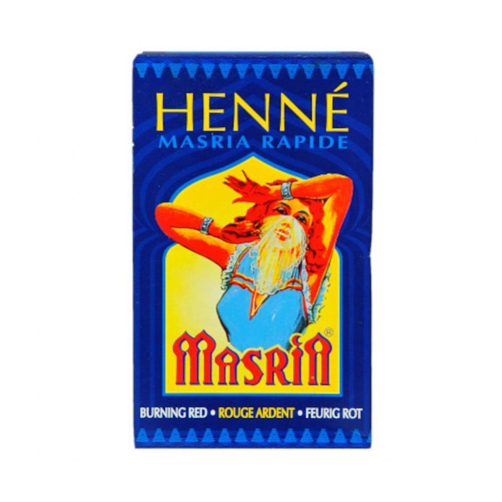 Fiery Red Masria Henne Henna Hair Dye Powder